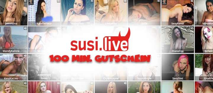Susi.Live 100 Min. Gratis Gutschein